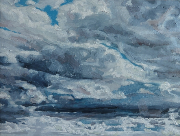 hours painting 1  Linda Ingham © Linda Ingham